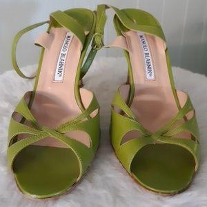 Manolo Blahnik sandals size 36 1/2